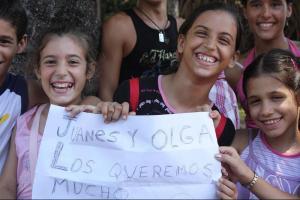 Bienvenida a los artistas a Cuba/Cortesía Bonnet Media Group
